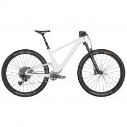 Vélo VTT 29p carbone - SCOTT 2022 Spark 920 - blanc nacré décor noir