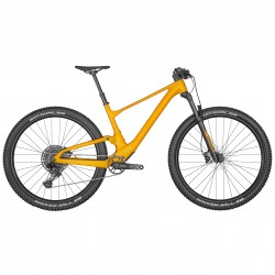 Vélo VTT 29p alu - SCOTT 2022 Spark 970 Orange - Orange clair brillant décor noir