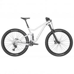 Vélo VTT 29p alu - SCOTT 2022 Génius 940 - Blanc décor gris