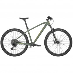Vélo VTT 29p alu - SCOTT 2022 Aspect 910 - Vert kaki décor jaune