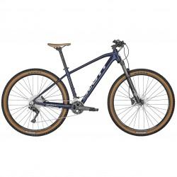 Vélo VTT 29p alu - SCOTT 2022 Aspect 920 - Bleu foncé métallisé décor blanc