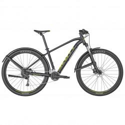 Vélo VTT 29p alu - SCOTT 2022 Aspect 950 EQ - Noir métallisé décor jaune