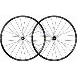 Roues à pneu 29p MAVIC vtt Crossmax 29 Boost ID360 SH noire décor blanc