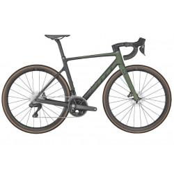 Vélo course 700 carbone - SCOTT 2022 Addict RC 15 Komodo Green - Vert et noir satiné décor noir