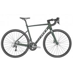 Vélo course alu 700 - SCOTT 2022 Speedster 20 - Vert sapin décor argent