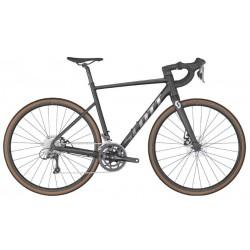 Vélo course alu 700 - SCOTT 2022 Speedster 40 - Noir décor argent