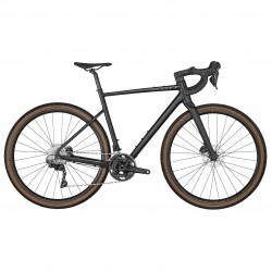 Vélo gravel 700 alu - SCOTT 2022 Speedster Gravel 30 Black - Noir décor gris clair