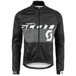 Veste thermique SCOTT hiver RC Team noir décor gris