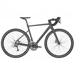 Vélo gravel 700 alu - SCOTT 2022 Speedster Gravel 50 - Vert sombre métallisé décor vert d'eau