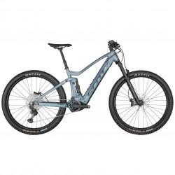 Vélo électrique vtt 29p alu - SCOTT 2022 Strike eRide 920 625 - bleu clair décor gris