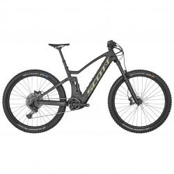 Vélo électrique VTT 29p alu - SCOTT 2022 Génius eRide 910 625 - Noir mat décor beige