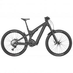 Vélo électrique VTT 29p carbone - SCOTT 2022 Patron eRide 900 750 - Noir mat décor beige