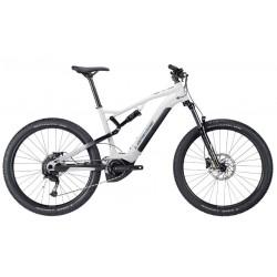 Vélo VTT électrique 27.5p alu - LAPIERRE 2021 Overvolt TR 3.5 500 - Blanc décor gris et noir
