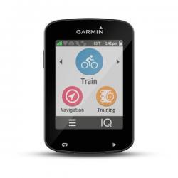 Compteur GPS vélo GARMIN Edge 820 - Blanc/décor noir