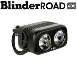 Eclairage avant KNOG usb Blinder Road 400 noir