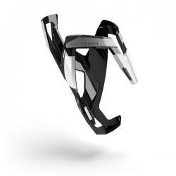 Porte-bidon ELITE nylon route vtt Custom Race noir décor blanc et gris