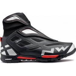 Chaussures NORTHWAVE vtt hiver X-Cross GoreTex noir décor rouge