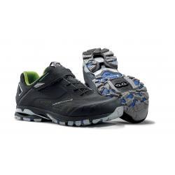 Chaussures NORTHWAVE vtt Spider 2 noir décor vert fluo