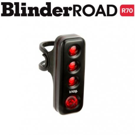 Feu arrière - KNOG usb Blinder Road R70 Verticale - noir