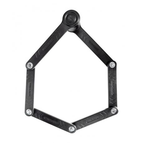 Antivol lame KRYPTONITE pliable Keeper 510 noir support noir