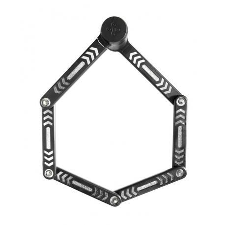 Antivol lame KRYPTONITE pliable Kryptolok 685 noir support noir
