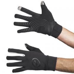 Gants longs - ASSOS tiburu Gloves - noir décor blanc