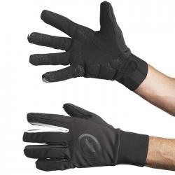 Gants longs ASSOS hiver bonkaGloves evo7 noir décor blanc