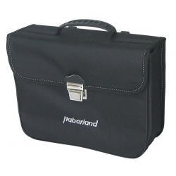 Sacoche arrière sur porte-bagage - HABERLAND Petite 10 - Noir