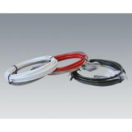 Cables+Gaine SB3 dérailleur vtt route White blanc 4mm