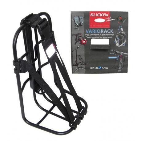 Porte-bagage KLICKFIX alu Vario Rack noir