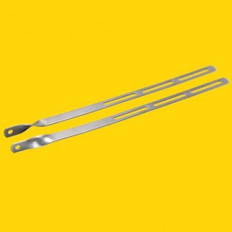 Tringlerie avant - TOPEAK : acier inox long 32.5cm