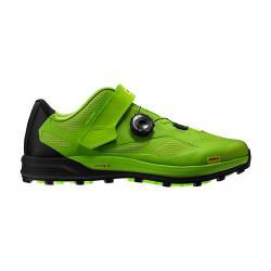 Chaussures MAVIC vtt XA Pro vert fluo lime décor noir