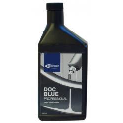Liquide préventif anticrevaison SCHWALBE latex naturel DocBlue NoTubes pour pneus UST