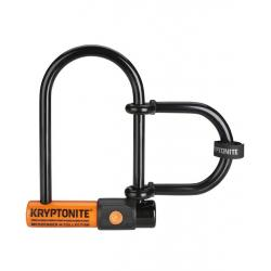 Antivol KRYPTONITE U Messenger Mini Plus 11 à clef orange et noir