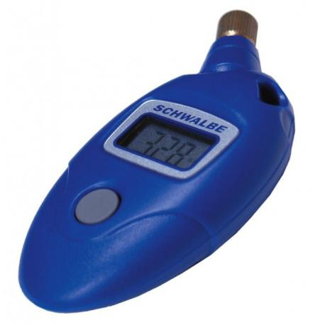 Manomètre SCHWALBE digital Airmax Pro bleu