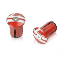 Bouchons de cintre XLC pvc GR X02 rouge et blanc