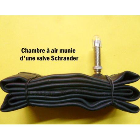 Chambre à air SCHWALBE vtt Extralight butyl Freeride noire