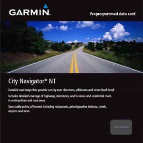 Cartographie GARMIN City Navigator NT