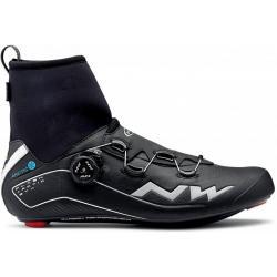Chaussures NORTHWAVE route hiver Flash Arctic GoreTex noir décor argent
