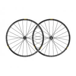 Roues à pneu 29p MAVIC vtt Crossmax Pro Carbon 29 ID360 SH noire
