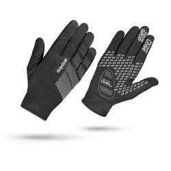 Gants longs hiver - GRIP GRAB Ride Windproof - noir décor gris