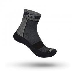 Chaussettes GRIP GRAB hiver Winter Sock gris décor noir