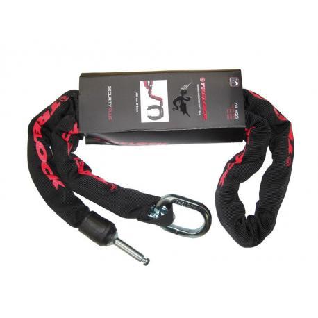 Chaîne pour antivol sur cadre - TRELOCK ZR455 140x8 - noir : pour RS350/450