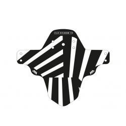 Garde-boue ALLMOUNTAINSTYLE pvc vtt avant Standard noir décor Zèbre blanc