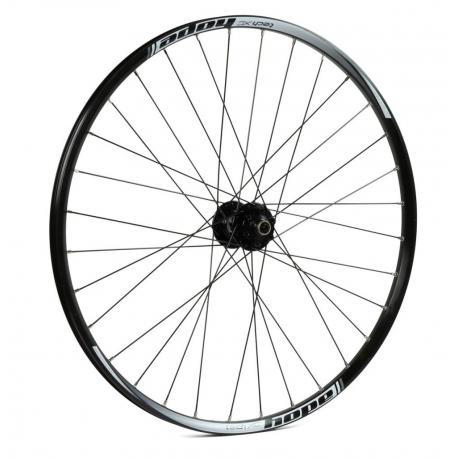 Roue à pneu 26p HOPE vtt Tech XC Pro 4 26 100 noire décor blanc avant