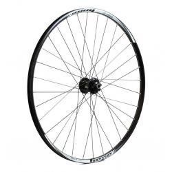 Roue à pneu 29p HOPE vtt Tech XC R115/Hoops Pro 4 29 Boost 110 noire décor blanc avant