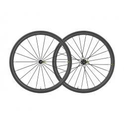 Roues à pneu 700 MAVIC route Ksyrium Pro Carbon SL UST ID360 SH 25 noire