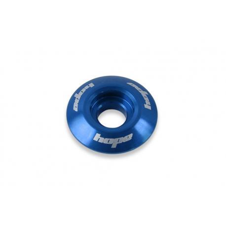Bouchon de potence HOPE alu Top Cap bleu