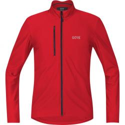 Maillot manches longues GORE C3 Thermo rouge