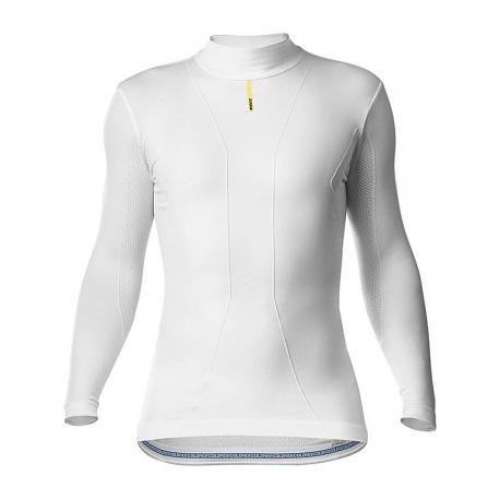 Sous-vêtement manches longues MAVIC Cold Ride blanc
